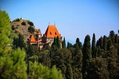 Дворец княгини Гагариной в Утесе (Большая Алушта)