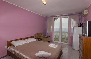 Розовая комната в отеле